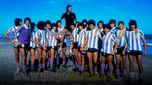 """Maradona: """"Feliz Cumpleaños Menotti, felicidades Maestro"""""""