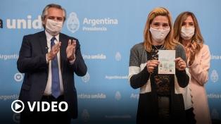 """Alberto Fernández: """"Es imperdonable que haya indocumentados en Argentina"""""""