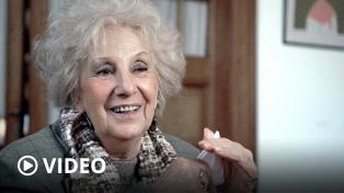 """Estela de Carlotto cumple 90: """"Hay que seguir hasta encontrar a todos los nietos"""""""