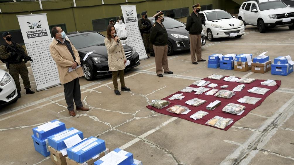 La ministra de Seguridad Sabina Frederic informó sobre más de 25 allanamientos