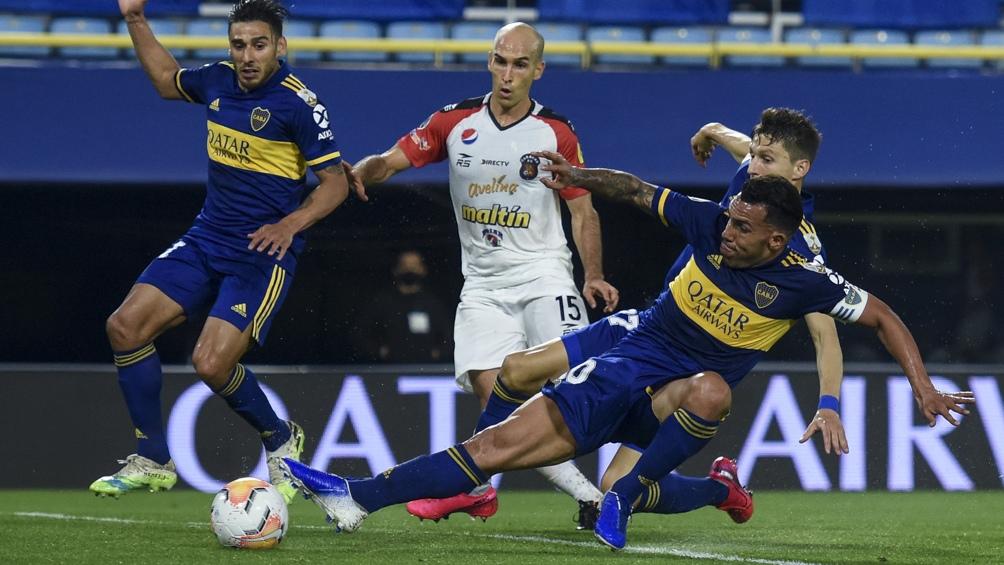 Boca cerró con una goleada 3 a 0 su participación en el Grupo H