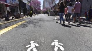 La Plata abre sus calles a los peatones durante el fin de semana