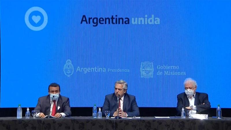 El Presidente anunció que el aislamiento seguirá por 14 días en ocho provincias y el AMBA