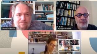 Enard y Fresán: literatura, pandemia y traducción en la mirada de un francés y un argentino