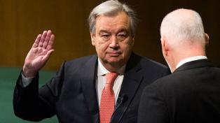 La ONU celebra sus 75 años con un llamado a la paz global para enfrentar la pandemia