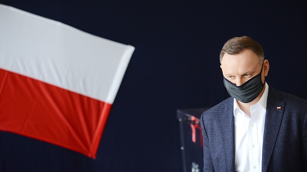 Andrzej Duda fue diagnosticado positivo por coronavirus