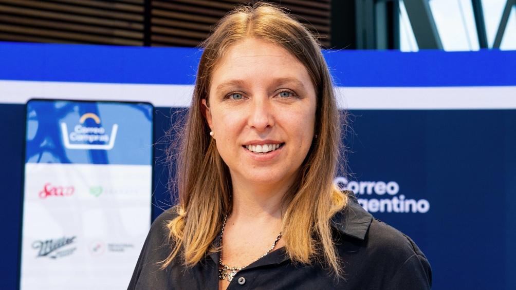Vanesa Piesciorovski explicó a Télam que Correo Compras funciona como una vidriera virtual.