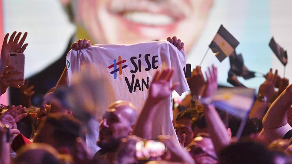 Casi 13 millones de votos cosechó el FdT, logrando el triunfo en primera vuelta.