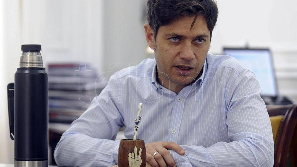 El gobernador realizó declaraciones sobre el desalojo del predio de Guernica ne diálogo con Télam.