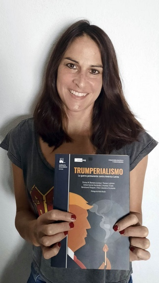 Silvina Romano, analista internacional.