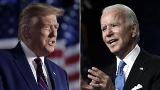 """Trump acusó a Biden de """"falta de apoyo a Israel"""" en la confrontación con Palestina"""