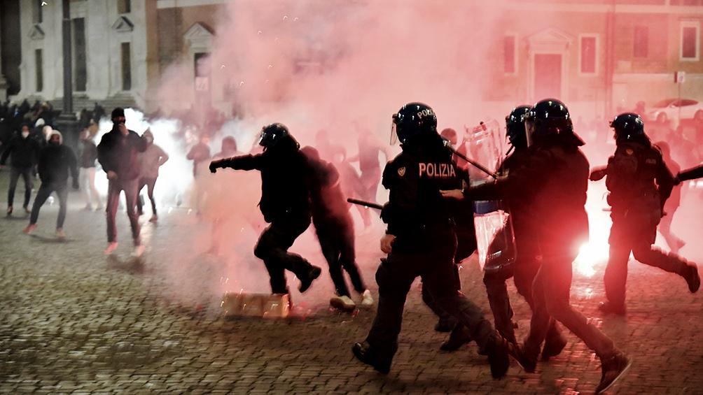 Hubo disturbios en varias ciudades del país