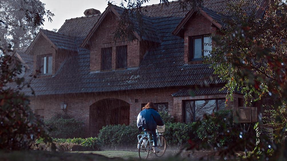 La casa del country, escena del crimen.