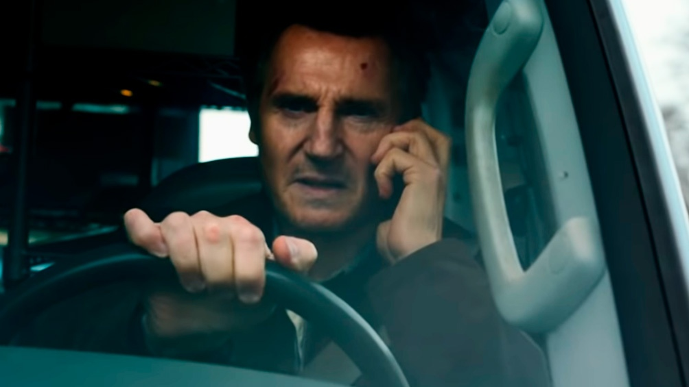 "Liam Neeson en ""Honest Thief"""