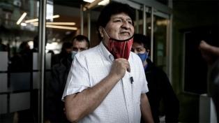 """Evo Morales: """"Que se investigue y sancione a los autores de la dictadura"""""""