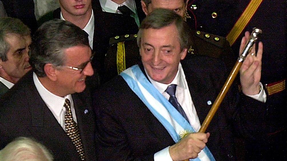 Recuerdan el 18° aniversario de la elección de 2003 que llevó a Néstor Kirchner a la Presidencia