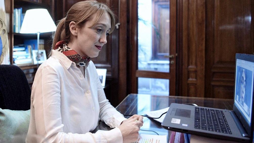 """Anabel Fernández Sagasti subrayó que es """"positivo"""" que tanto el oficialismo como la oposición opinen que la Cámara """"se extralimitó en su sentencia""""."""