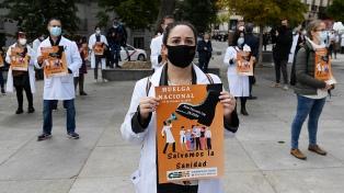 España: los médicos van a huelga en medio de la segunda ola de coronavirus