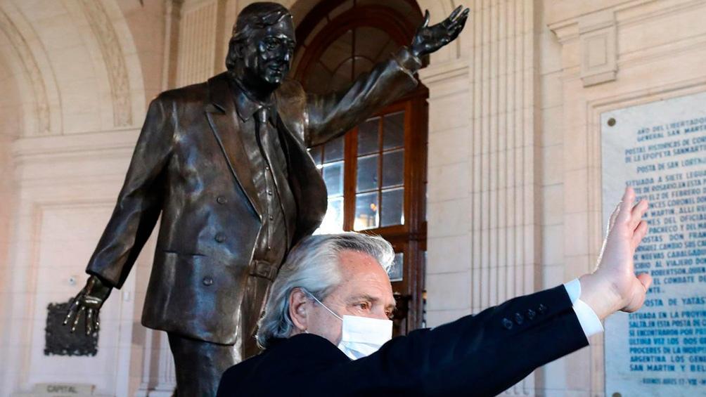 El acto en el CCK estuvo encabezado por el presidente Alberto Fernández