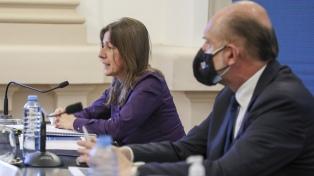 Perotti y Frederic coordinan la intervención de fuerzas federales en la provincia