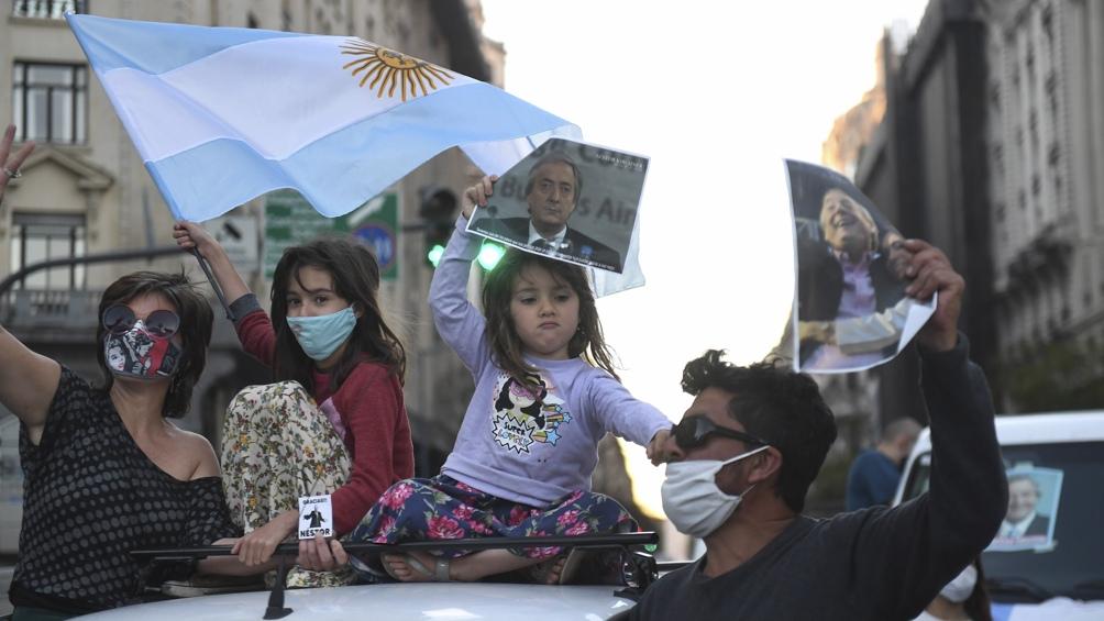 Caravana Mil Flores en Ciudad de Buenos Aires