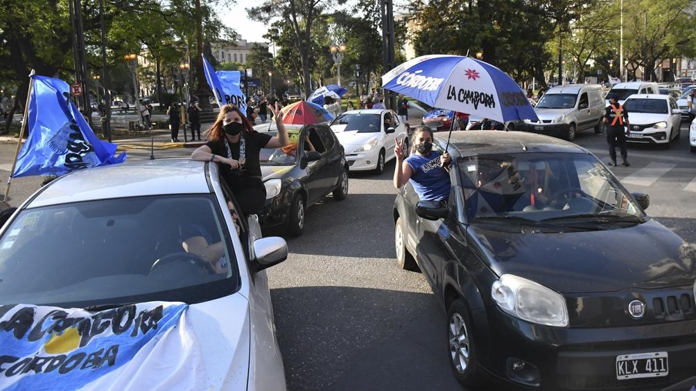 Caravana en Córdoba