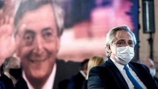 El Presidente recordó a Néstor Kirchner y su anuncio de desendeudamiento de la Argentina