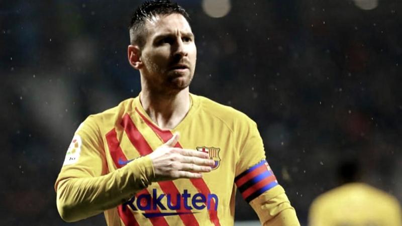 Barcelona, con Lionel Messi, venció sobre la hora a Valladolid y se ubicó a una unidad de la punta  - Télam - Agencia Nacional de Noticias