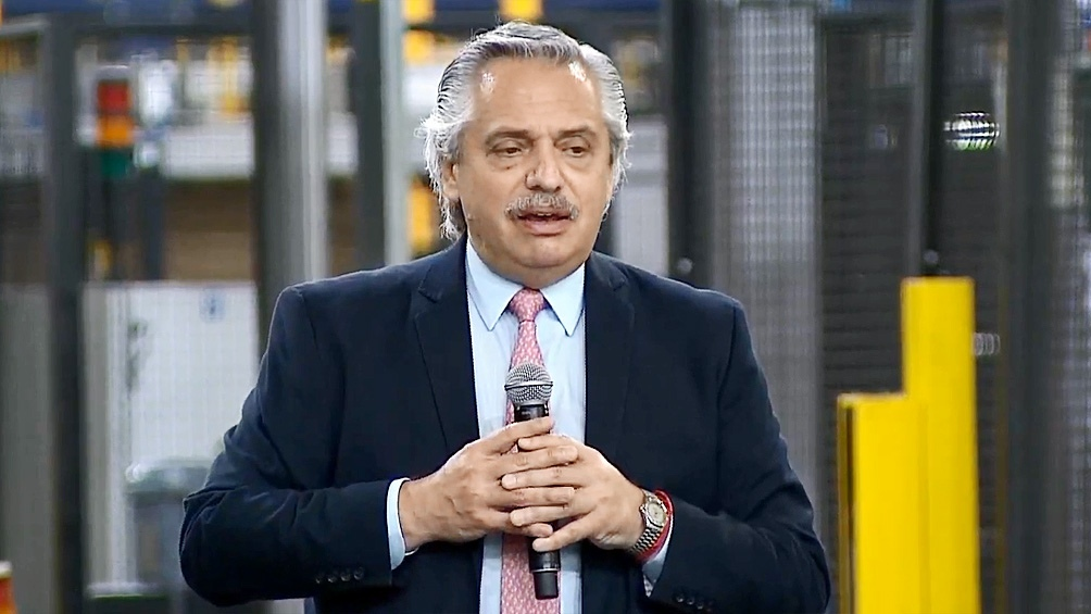 Alberto Fernández subrayó que la forma de salir del congelamiento no contempla la dolarización.