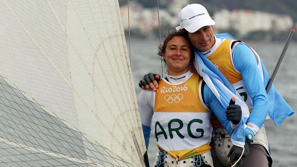 Santiago Lange y Cecilia Carranza.