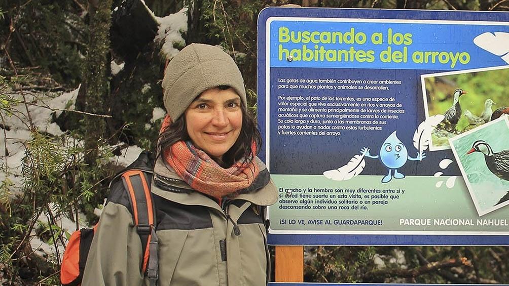 """Laura señala que, en relación al cuidado de la naturaleza, """"el comportamiento de la gente es cada vez mejor, en especial las nuevas generaciones""""."""