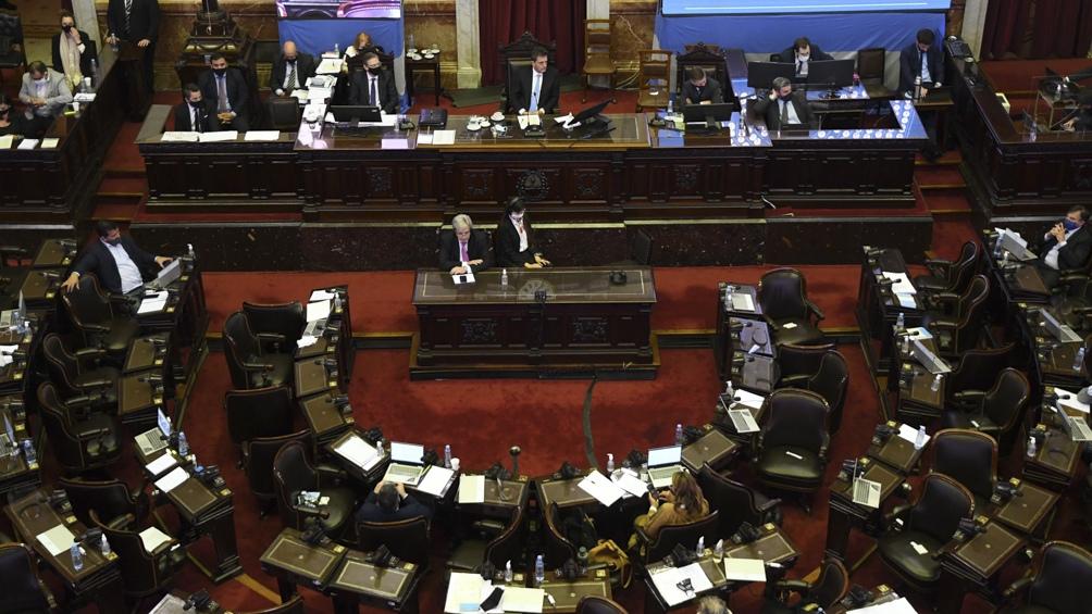 En tanto, a las 15, y de acuerdo a lo acordado este mediodía en la reunión de Labor Parlamentaria, está prevista la sesión especial convocada por el oficialista Frente de Todos.