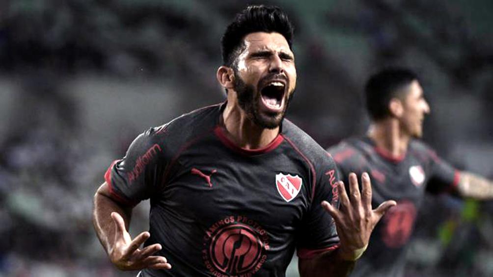 Silvio Romero, autor del gol del triunfo