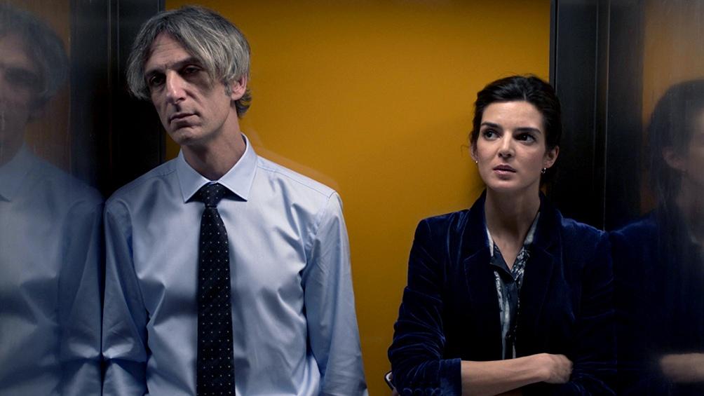 Ernesto Alterio y Clara Lago, director y ex alumna