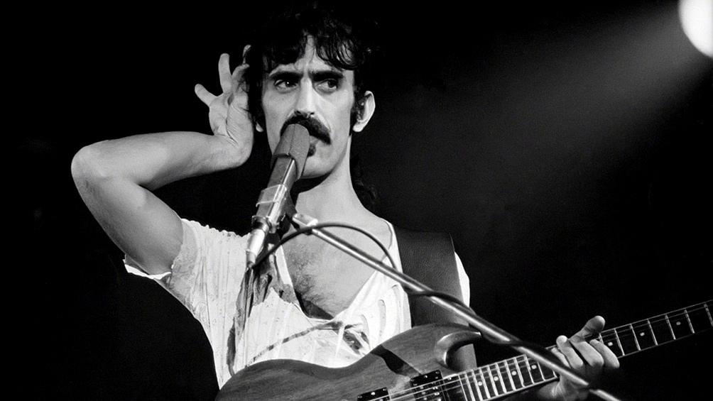 Zappa dejó una obra de alrededor de un centenar de discos