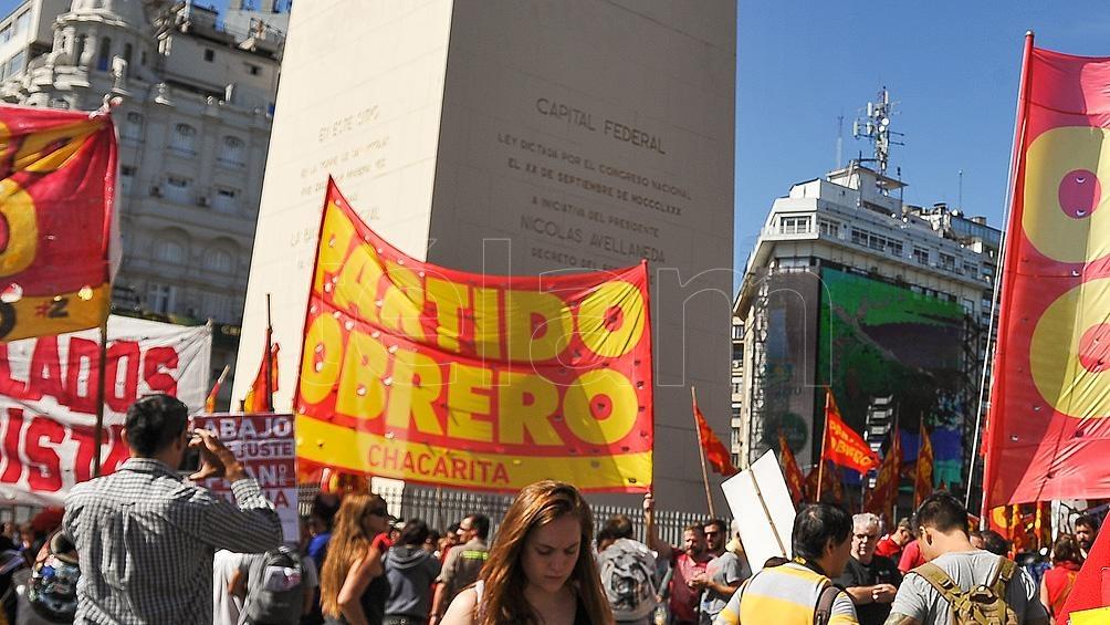 Las protestas están encabezadas por organizaciones políticas y movimientos sociales