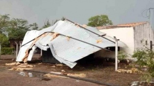 Jujuy: vientos y lluvias causaron destrozos