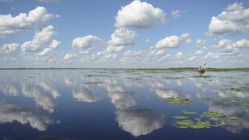 El 60% del Mburucuyá está compuesto por agua (hay más de 110 lagunas).