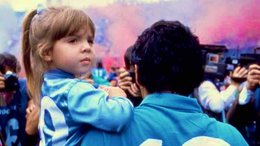 """Dalma Maradona: """"Gracias a todos los que rezaron por mi papá"""""""