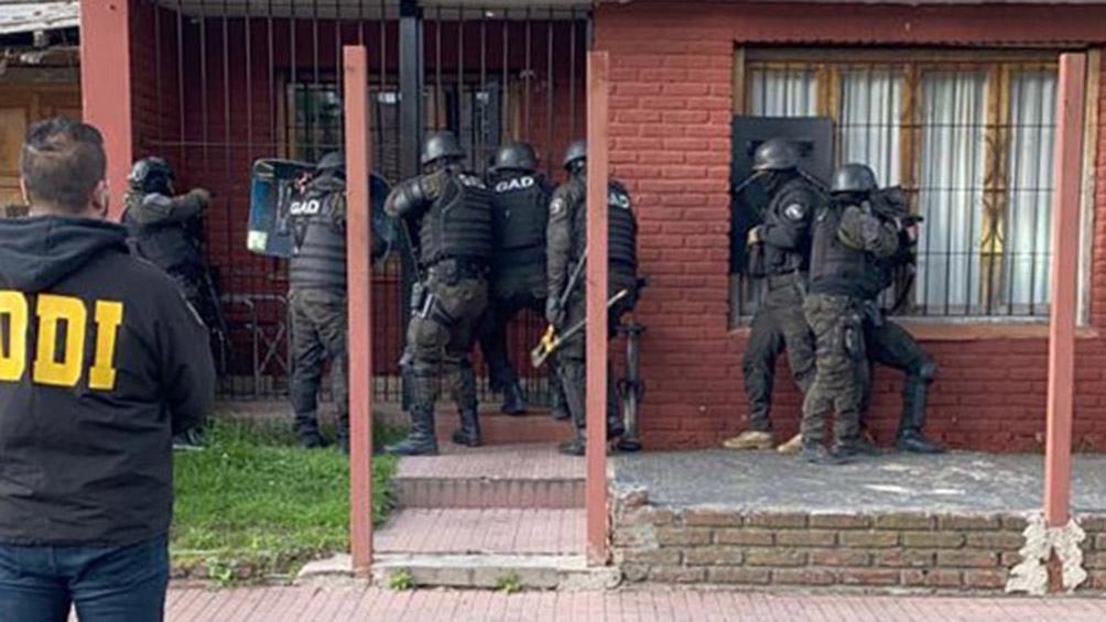 Los procedimientos fueron realizados por detectives de la Subdelegación Departamental de Investigaciones de Tigre.