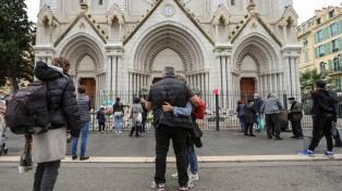 Otros dos detenidos por el ataque en la iglesia de Niza donde murieron tres personas