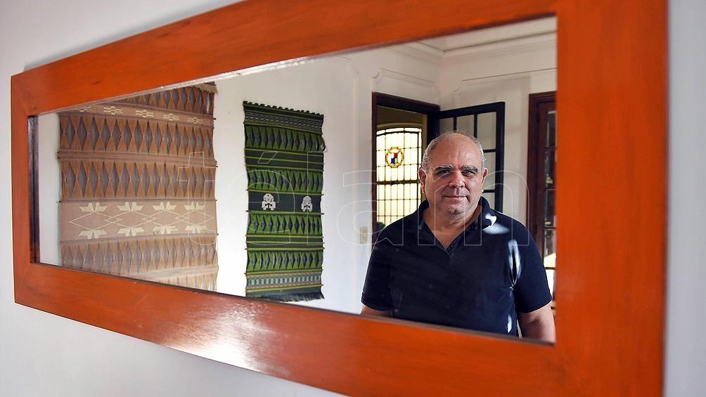 Santiago O Donnell en charla con Télam