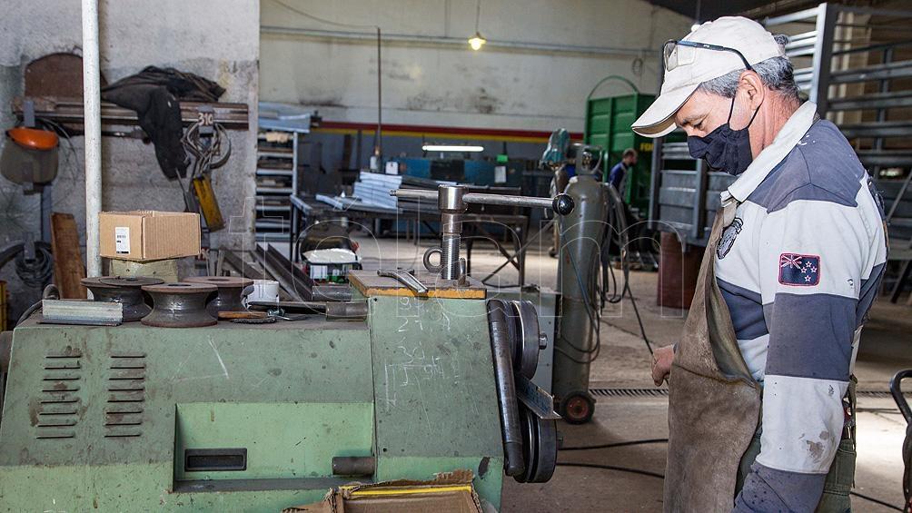 Se registró un aumento en la actividad industrial.