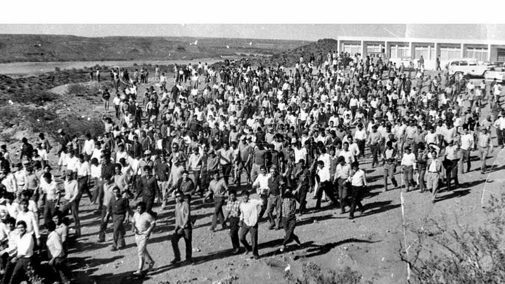 """En la década del 60, tuvo lugar el """"Choconazo"""", una gran huelga protagonizada por miles de obreros."""