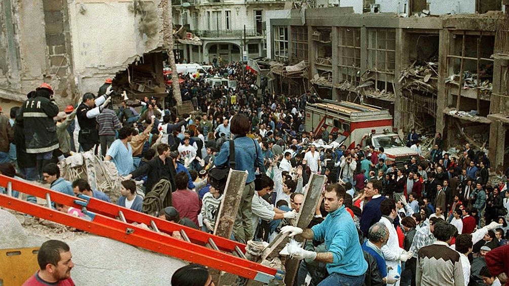 El atentado a la mutual se produjo el 18 de julio de 1994