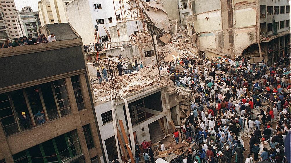 El atentado a la AMIA fue perpetrado el 18 de julio de 1994.