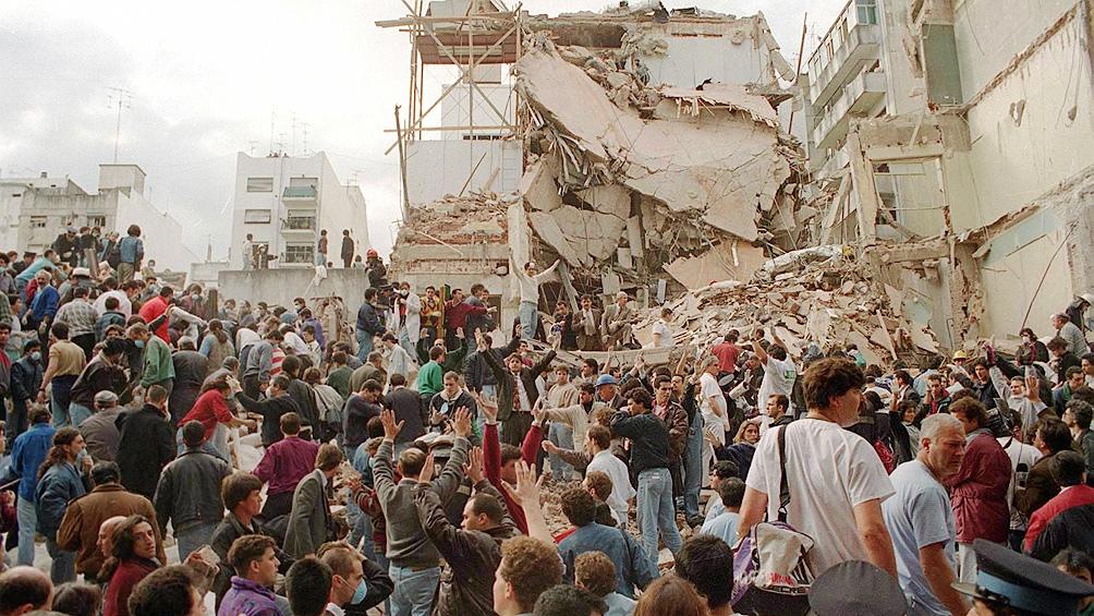 El atentado del 18 de julio de 1994 provocó 85 muertes.