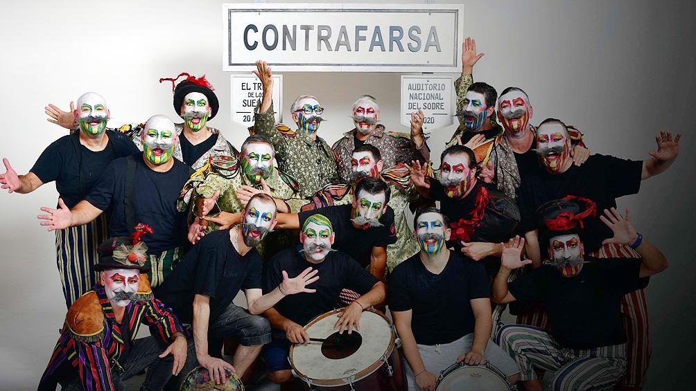 Nacida a comienzos de 1980, en plena dictadura uruguaya, Contrafarsa comenzó con el nombre de El Firulete.