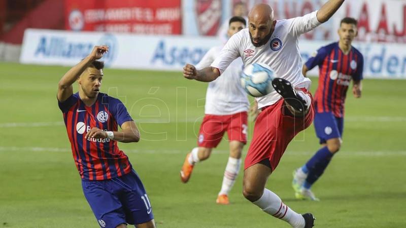 San Lorenzo con el debut de Soso, igualó sin goles ante Argentinos