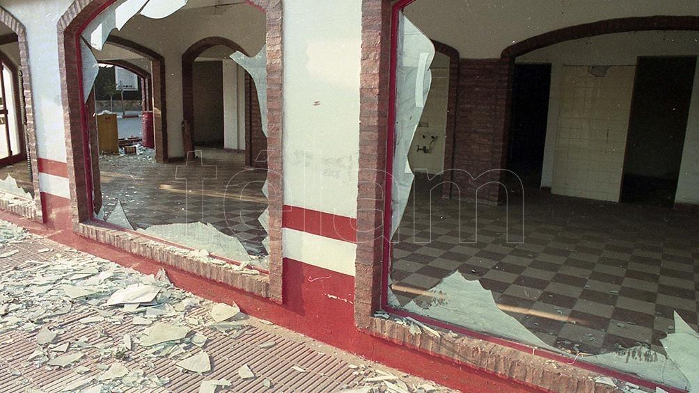 A causa de las explosiones murieron siete personas y resultaron heridas 300.